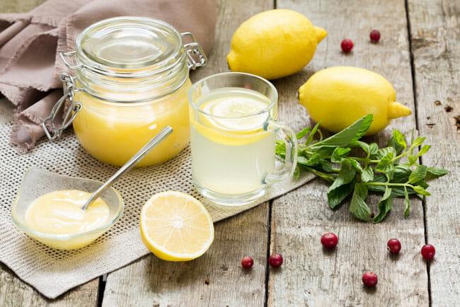 напиток лимон и мед