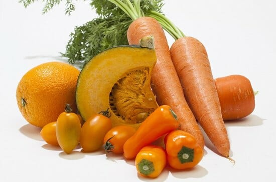 оранжевая диета продукты