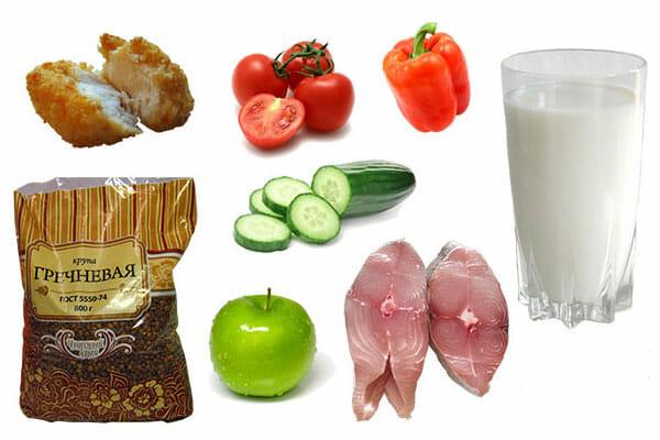 продукты для разгрузки
