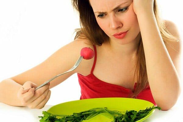 завтрак овощами