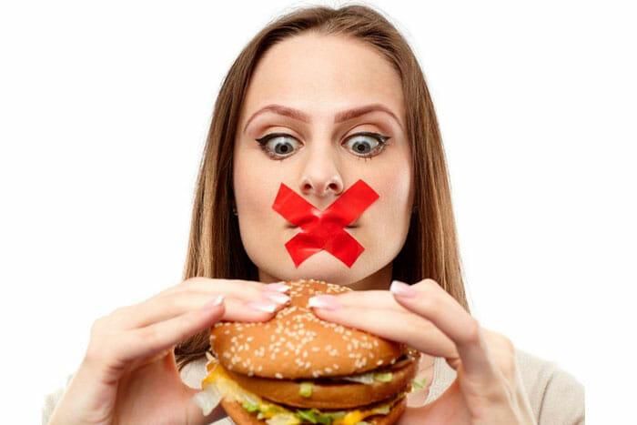 изменить вредные привычки питания