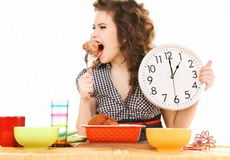 режим питания часы