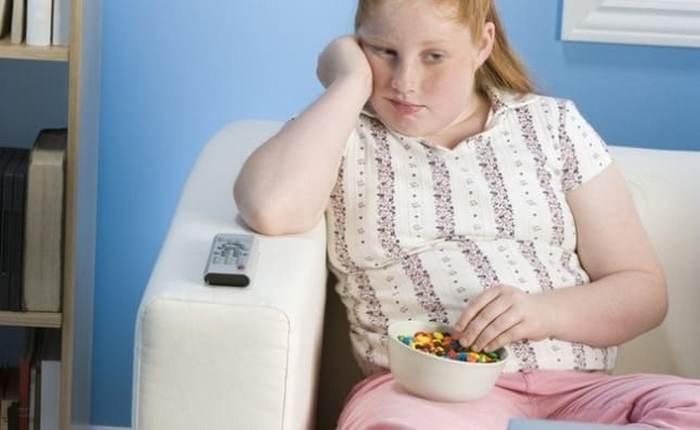 переедать с детства