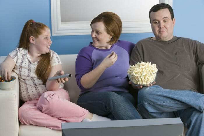 семья с лишним весом