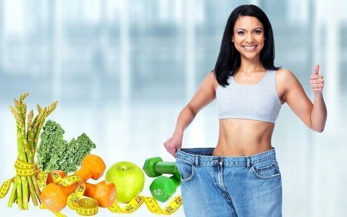 пища способствует похудению