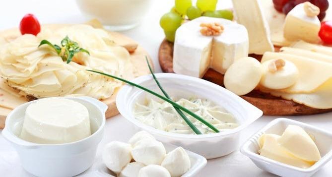 еда белого цвета